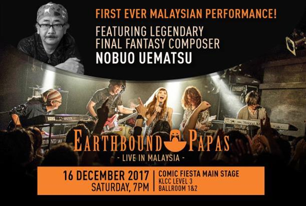 Earthbound Papas -Live in Malaysia