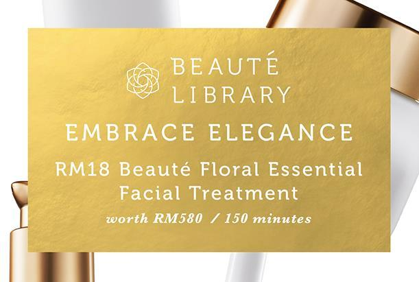 [Beauté Library] Beauté Floral Essential Facial Tr