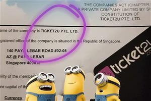 Ticket2u Pte Ltd
