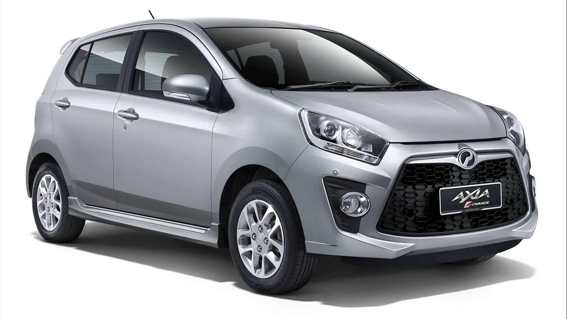 Starting off with the baseline axia model the car offers a very spacious interior for its size a brand new eco friendly energy efficient engine and a new