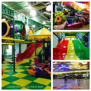 Jungle Gym & Roller Sports World at Bangsar Shopping Centre