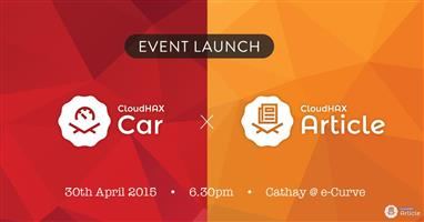 CloudHax Car & Article Launching on 30th Apr 2015!