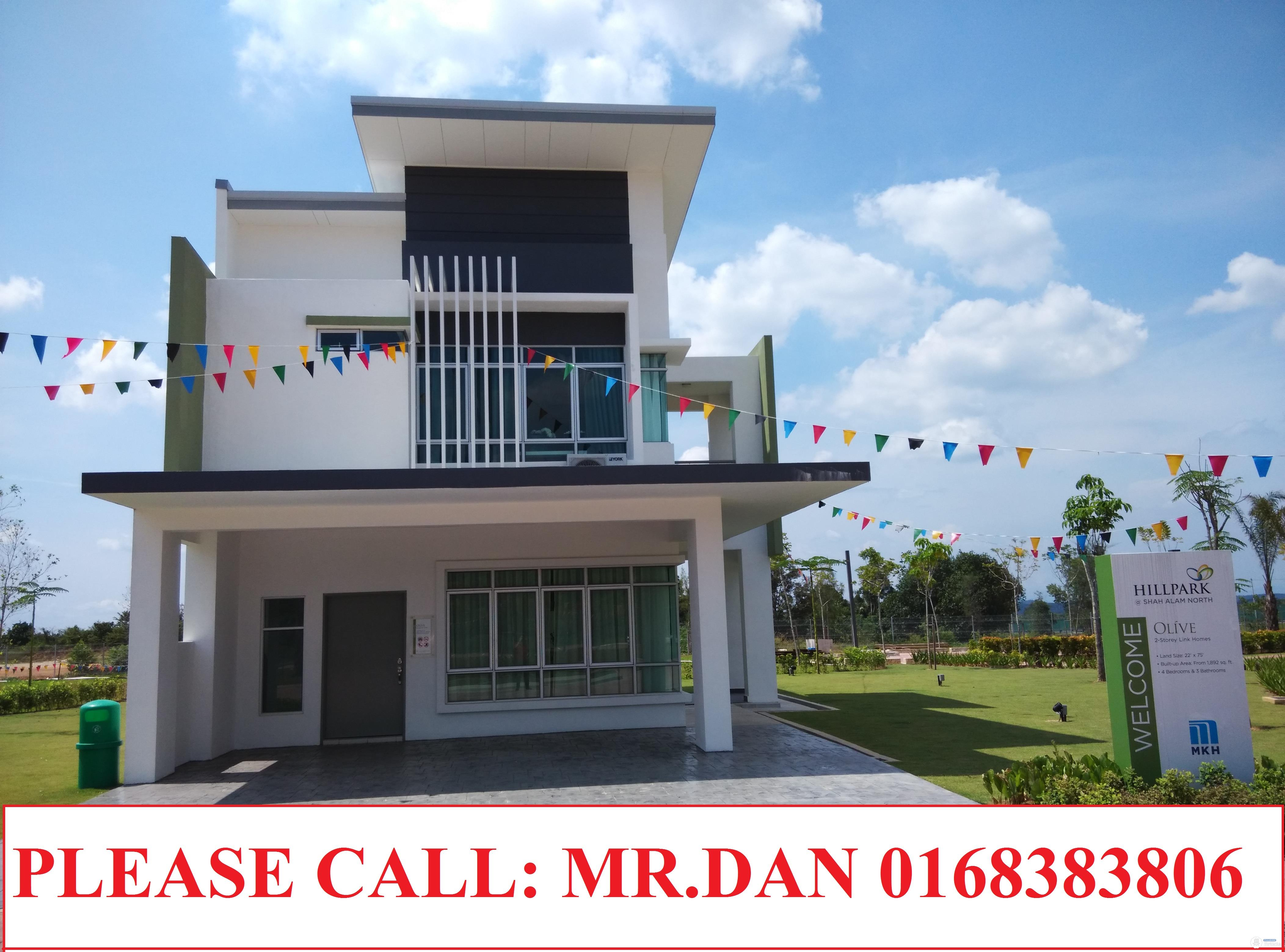 new 2 storey house in shah alam and sungai bluh 3102