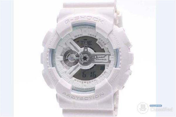 Casio G-Shock GA-110BC-7A Limited White