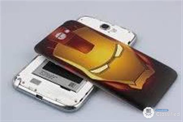Iron man casing for samsung note2