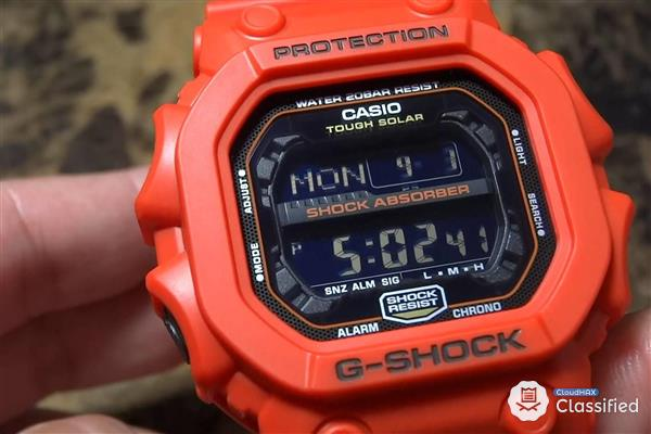 Casio G-Shock G Shock King GX56 GX-56 Orange