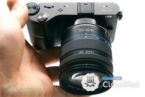 Samsung NX200 (Body+18-55mm lens) + Tripod + Bag