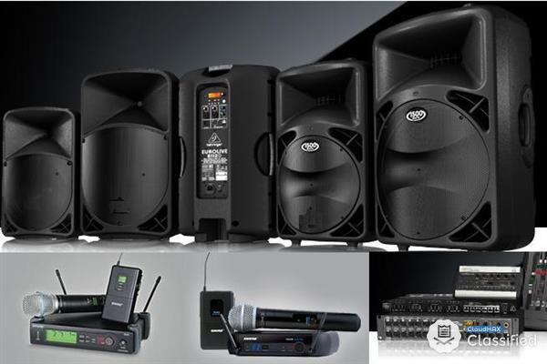 Sound System Rental in Malaysia (Sales Available)