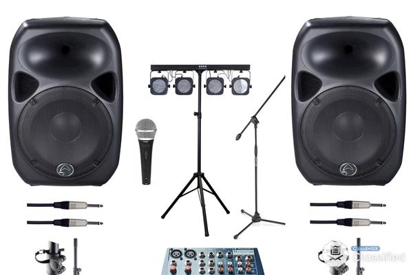 Sound Systems & PA Systems Rental