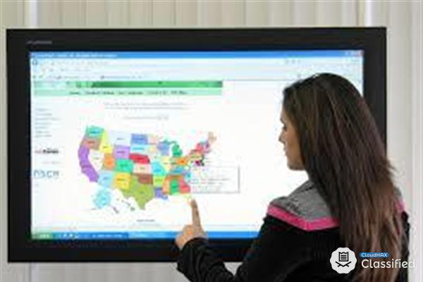 Touch Screen Monitor Rental