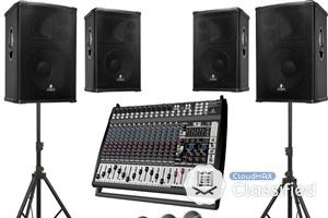 Sound System Rental (Sales Available)