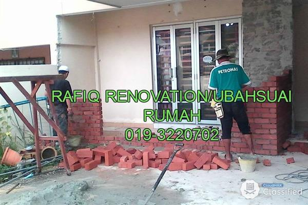 TUKANG PAIP/PLUMBER DAN RENOVATION