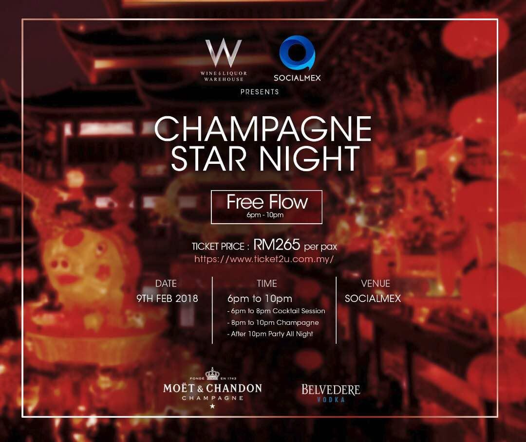 Champagne Star Night