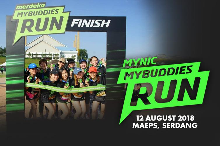 MYNIC MYBUDDIES RUN 2018