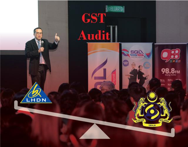 GST to SST Transition + Income tax audit convergence with GST audit by Dr CHoong Kwai Fatt