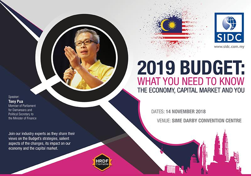 Tony Pua on 2019 Budget: What You Need To Know - The Economy, Capital Market and You programme