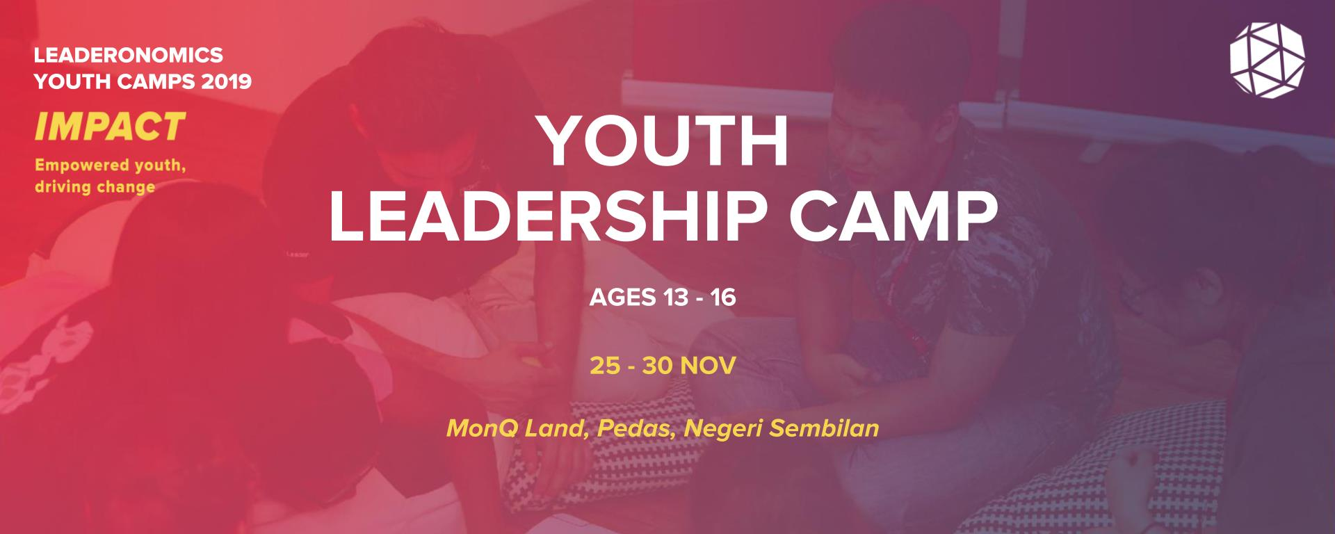 Leaderonomics Youth Leadership Camp - NOV 2019