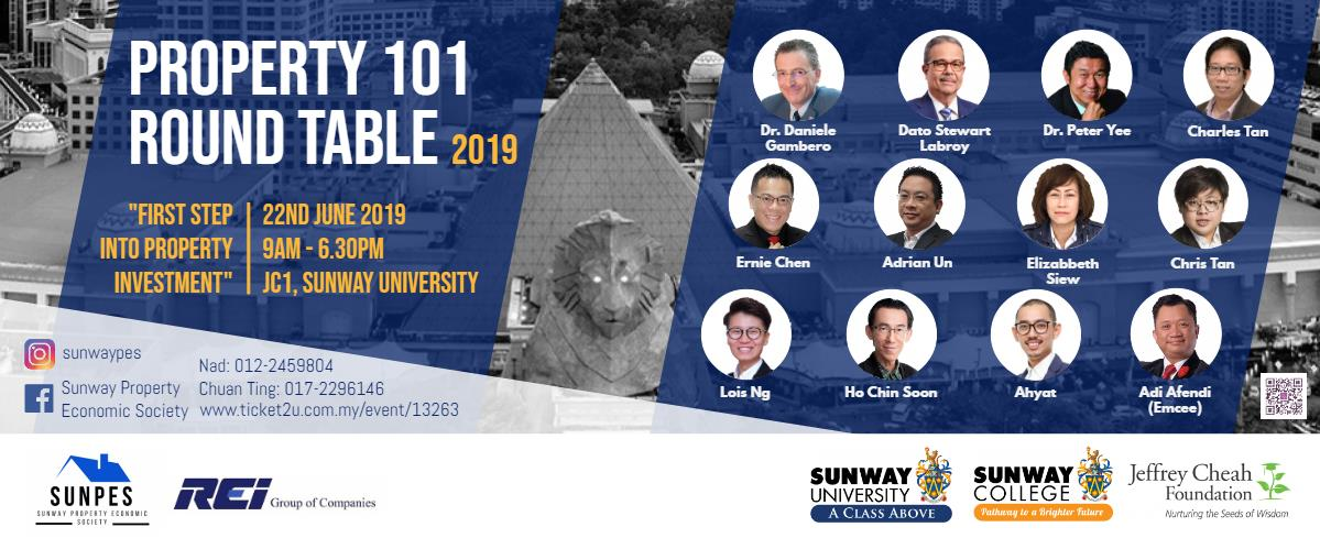 Property 101 Round Table, Sunway Property Economic Society