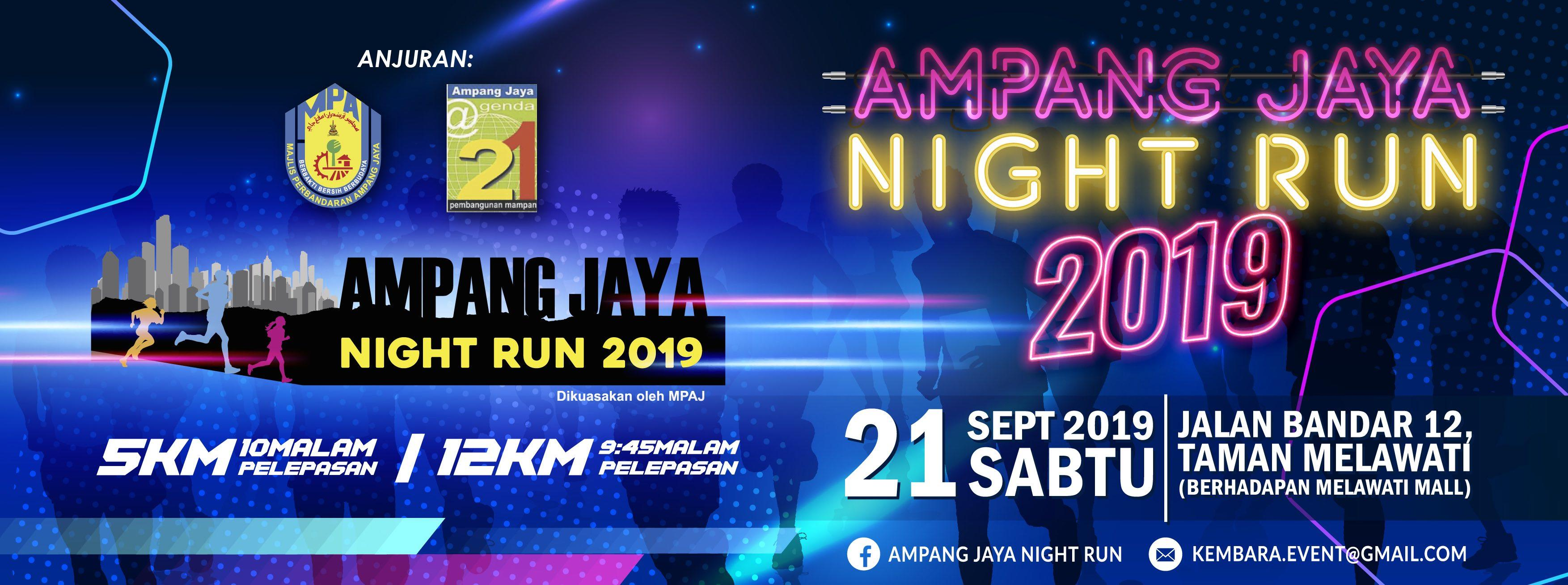 Ampang Jaya Night Run 2019