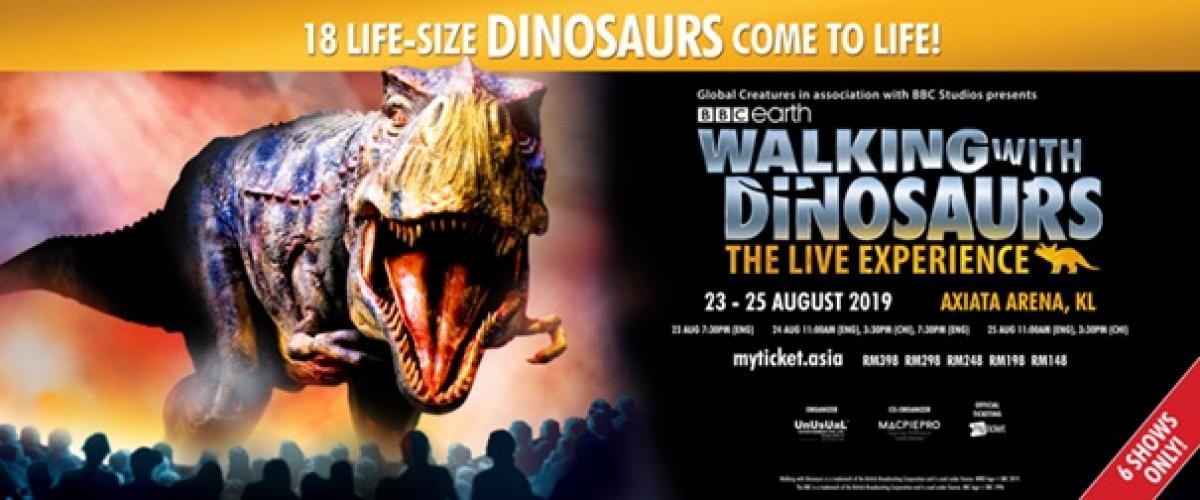 WALKING WITH DINOSAURS THE LIVE EXPERIENCE