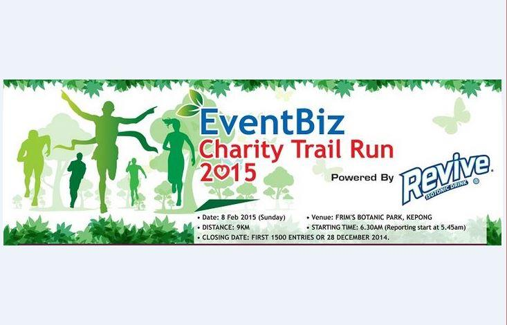 EventBiz Charity Trail Run 2015