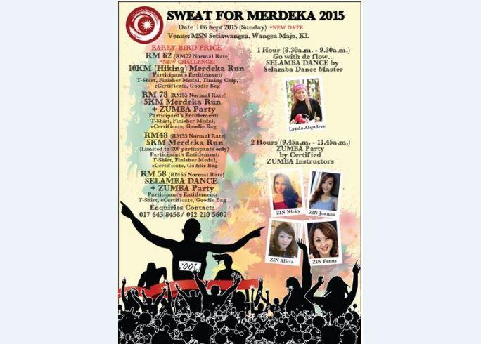 Sweat for Merdeka 2015