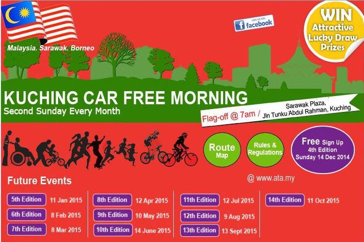 11th Edition: Kuching Car Free Morning