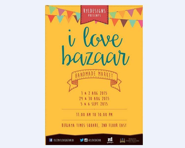 I Love Bazaar - Handmade Craft Market