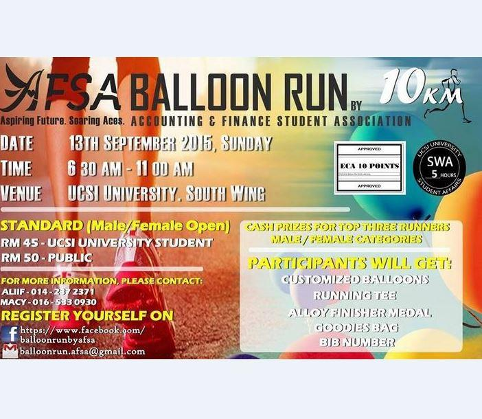 ASFA Balloon Run 2015