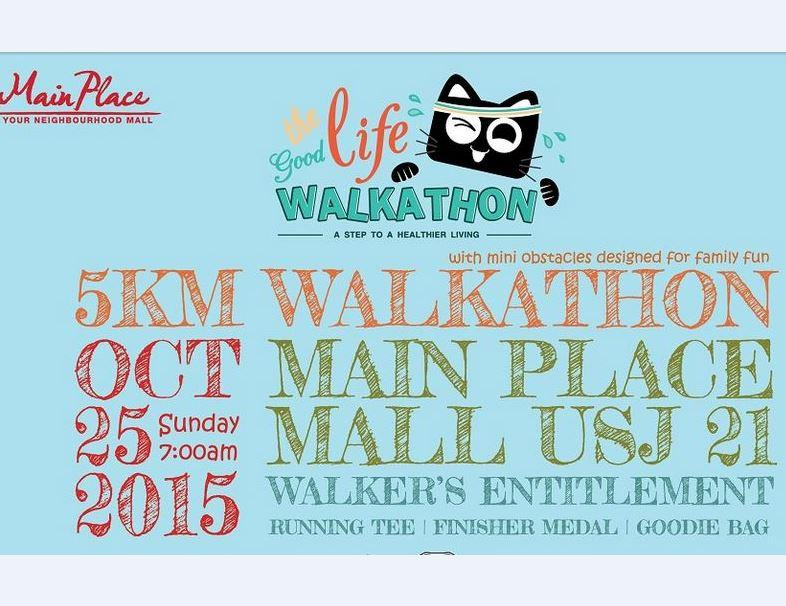 THE GOOD LIFE WALKATHON 2015
