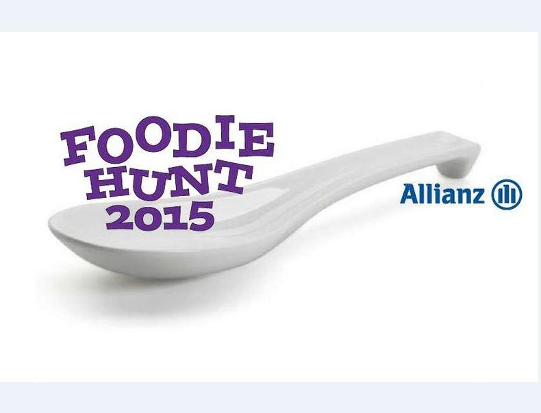 Allianz Foodie Hunt 2015