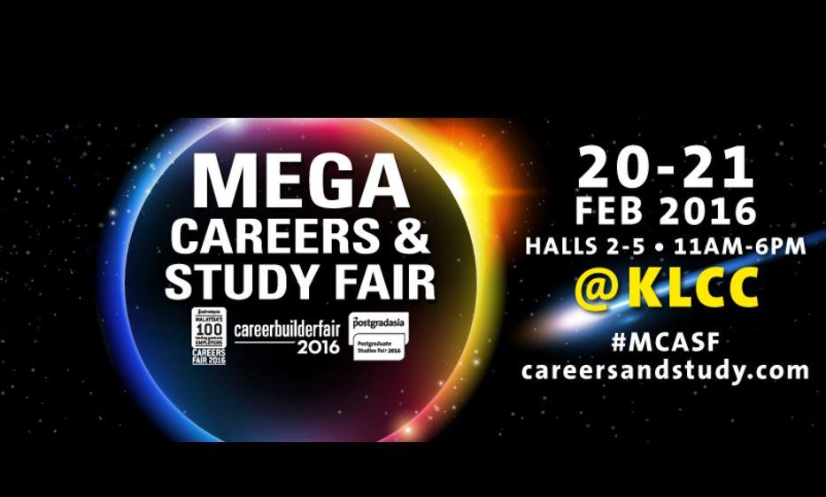 MEGA CAREERS AND STUDY FAIR 2016