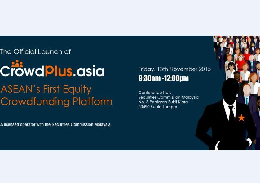 The Official Launch of ASEAN's First Equity Crowdfunding Platform