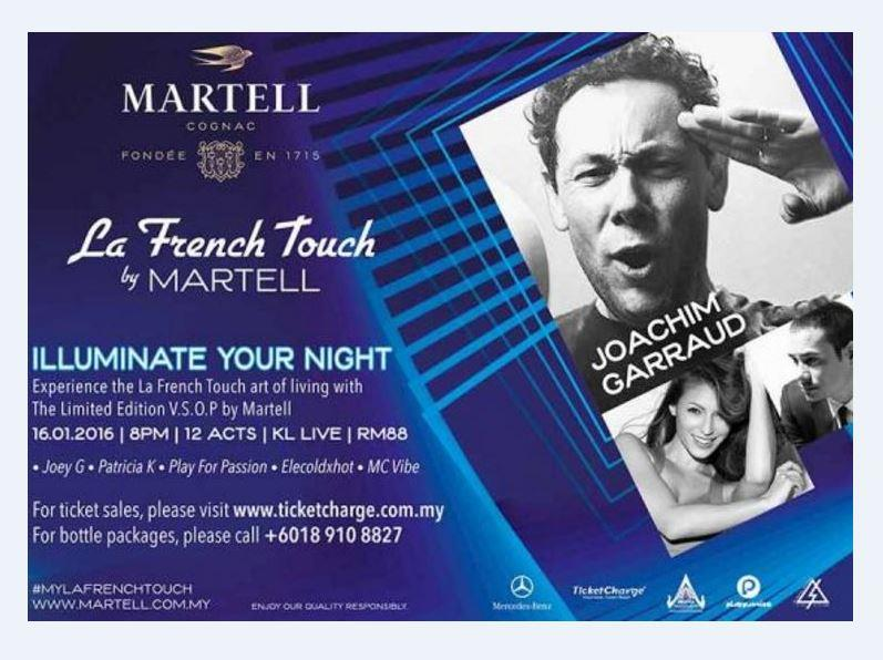 Martell La French Touch Party