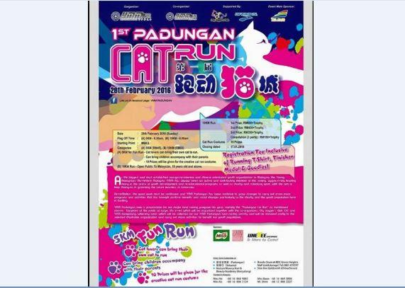 PADUNGAN CAT RUN 2016