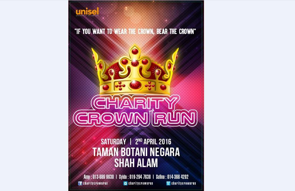 UNISEL Charity Crown Run 2016