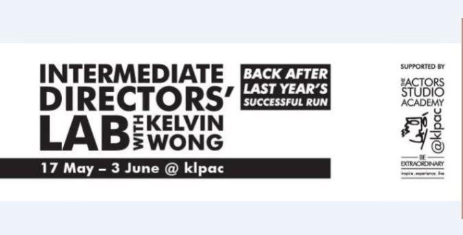 Intermediate Directors' Lab with Kelvin Wong