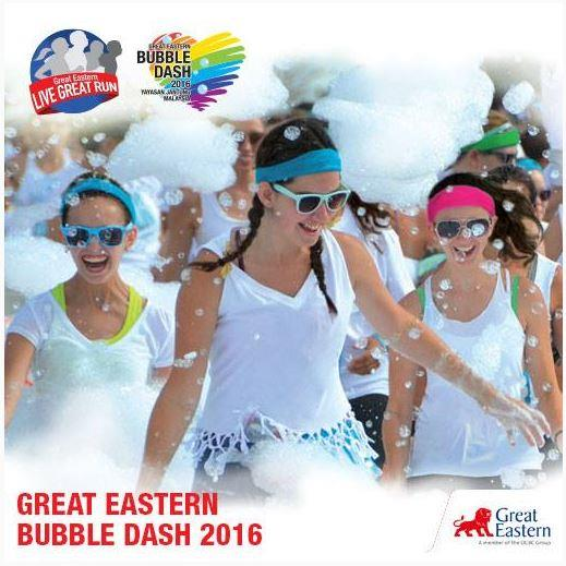Great Eastern Bubble Dash Penang 2016