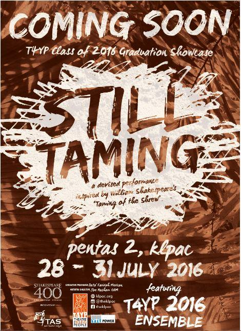 [klpac] Still Taming – T4YP End of Season Showcase