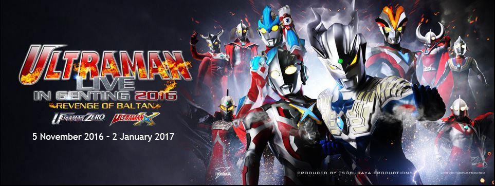 Ultraman Live in Genting 2016