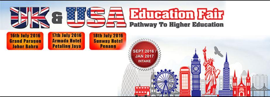 UK & USA Education Fair - Penang