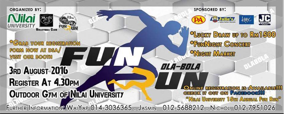 Nilai University 15th Annual Fun Run