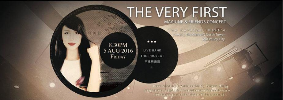 The Very First MayJune & Friends Concert