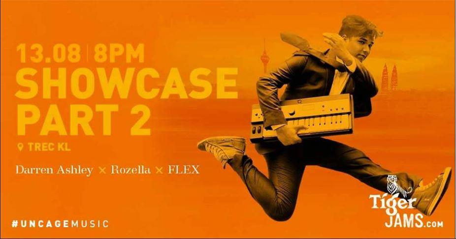 Tiger Jams Showcase - Rozella x Darren Ashley x Flex