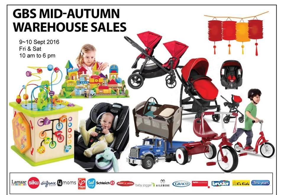GBS Mid Autumn Warehouse Sales