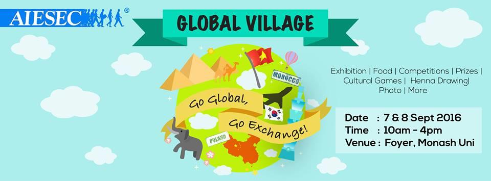 Global Village 2016: Go Global Go Exchange