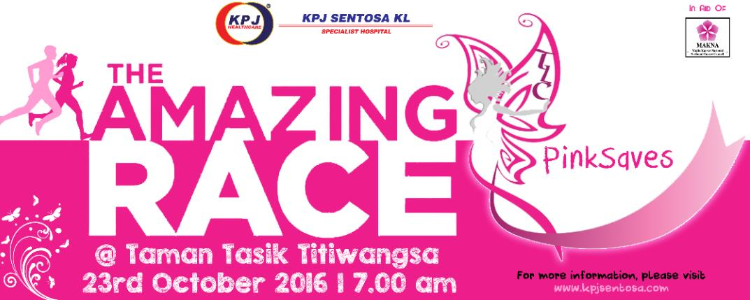 PinkSaves Amazing Race 2016