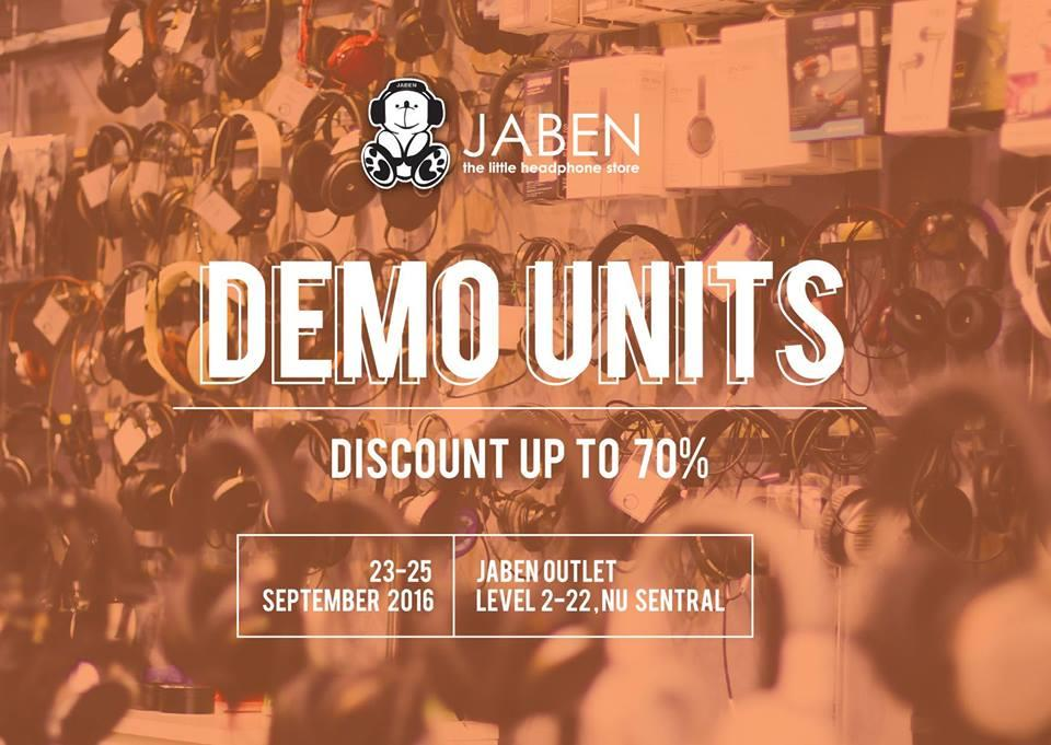 Jaben Nu Sentral Demo Clearance Sale