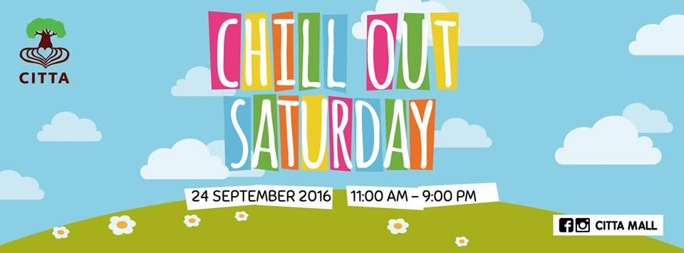CITTA Chill Out Saturday