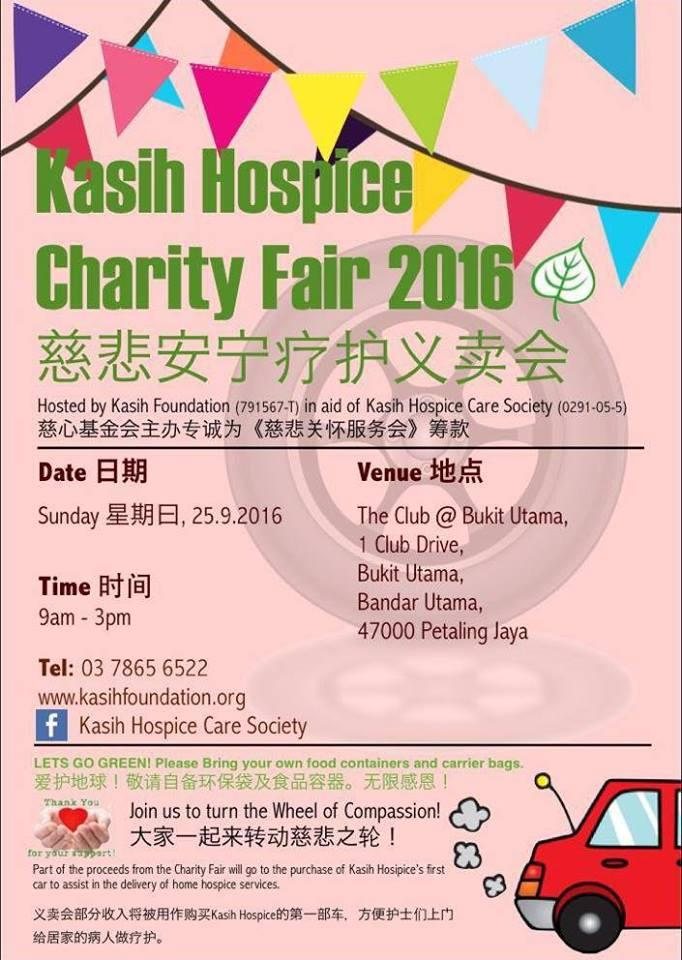 Kasih Hospice Charity Fair 2016